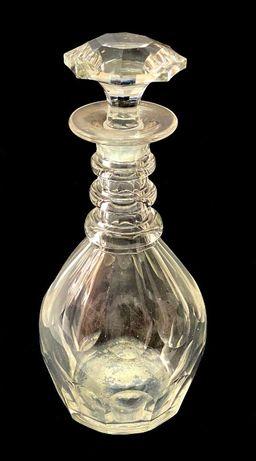 Antiga garrafa de cristal moldado Vista Alegre sec XIX (1824.- 1880.)