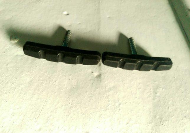Par calços de Travão V-Brake com espigão JAGWIRE MOUNTAIN SPORT