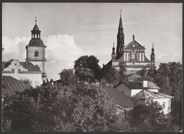 pocztówka - Sandomierz 1966 - Katedra - 2100 egz.