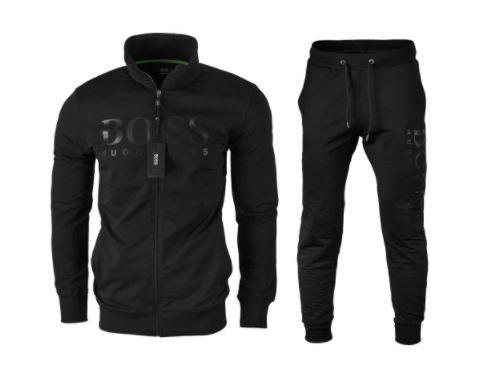 Hugo Boss Dres z Logo Bluza + Spodnie Czarny S M L XL XXL XXXL