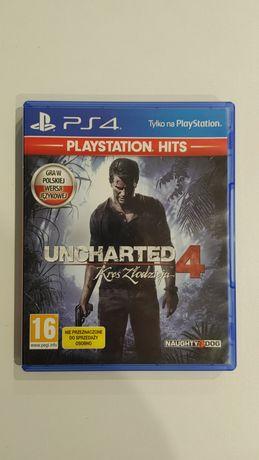 Gra na konsolę PlayStation 4 PS4 Uncharted 4: Kres złodzieja