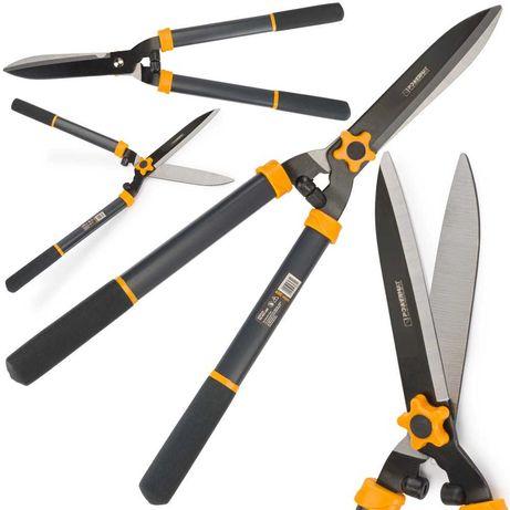 RĘCZNE nożyce ogrodowe DO ŻYWOPŁOTU KRZEWÓW 600mm