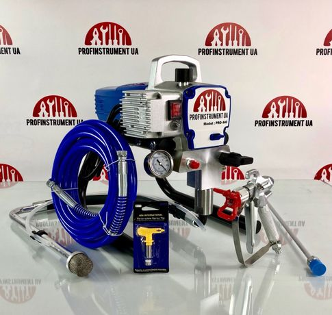 Покрасочный безвоздушный аппарат PROF-440, аналог Titan, Graco, Wagner