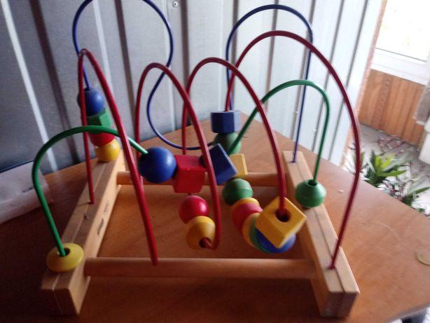 Drewniaba Zabawka dla dzieci