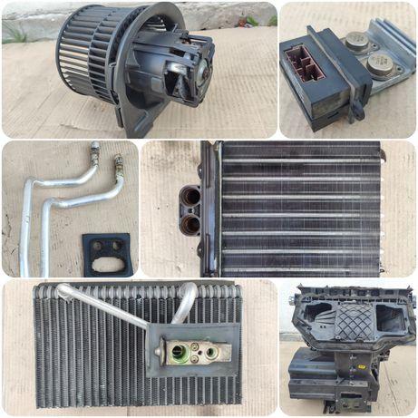 Радиатор вентилятор корпус резистор испаритель печки Opel Vectra b.