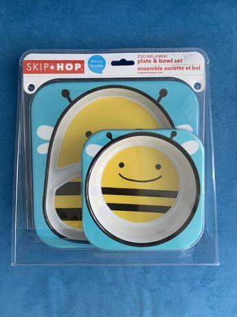 Набор тарелок и приборов Пчелка Skip Hop