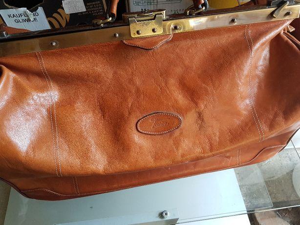 Skórzana torba francuskiej firmy texier