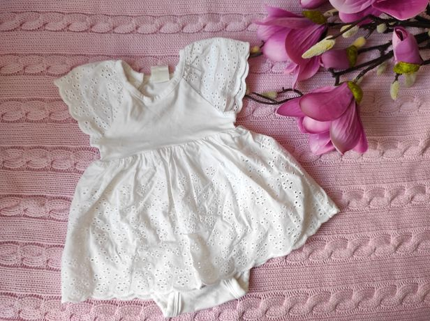 Sukienka Hm biala