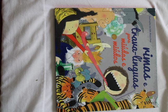 livro de trava-línguas