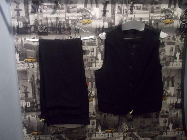 Garnitur ślubny w kolorze czarnym