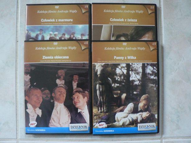 Kolekcja filmów DVD Andrzeja Wajdy