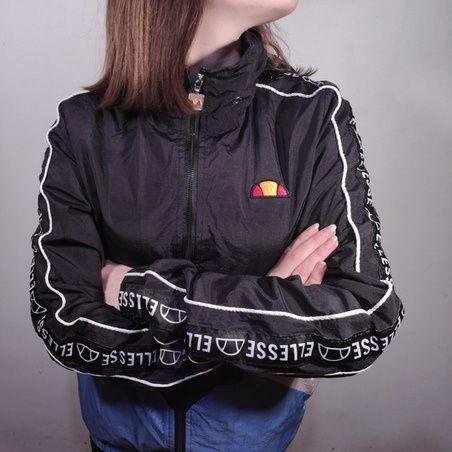 Ветровка Ellesse с ламсами мужской (р.XS) куртка найк адидас пума