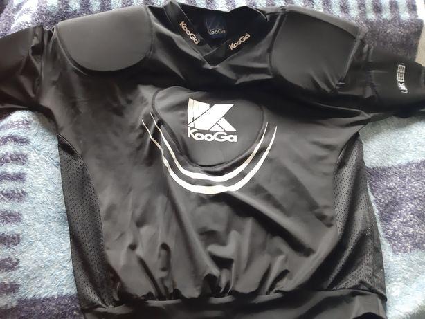 Koszulka do rugby i futbolu amerykańskiego KooGa Warrior (ochraniacze)