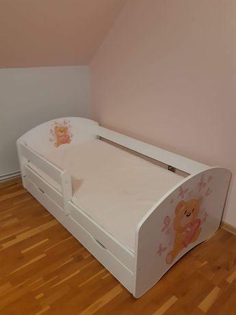 ŁÓŻKO 160x90 dla dziewczynki