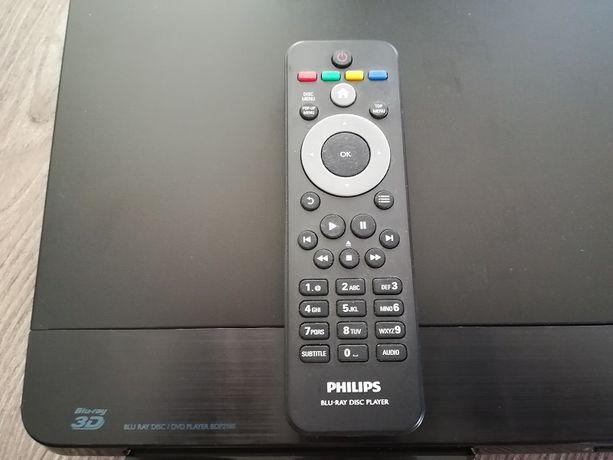 Odtwarzacz płyt Blu-ray/DVD BDP2180/12 - OKAZJA (nie wysuwa szuflady)