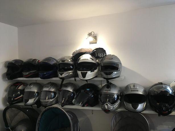 Używane firmowe kaski motocyklowe