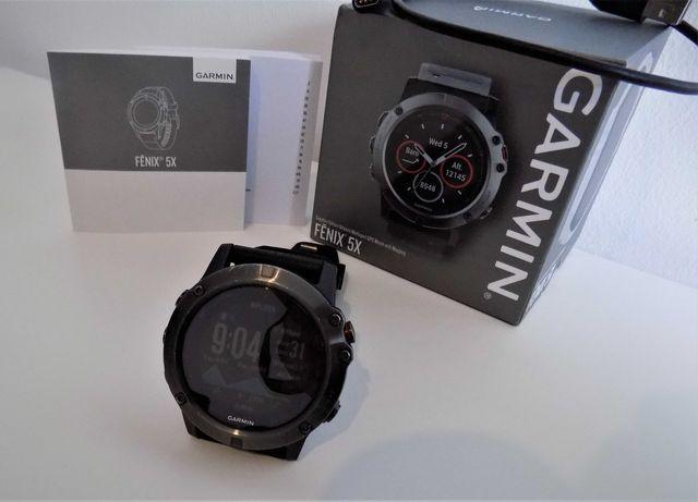 Garmin Fenix 5x 51mm Safira Relógio Multidesportos