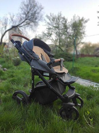 Продам коляску Adamex Massimo 2 в 1, б/у, 1 ребенок