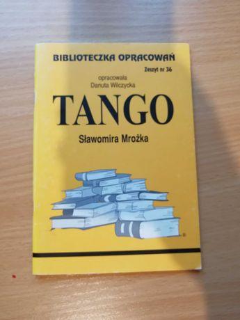 Tango streszczenie / opracowanie