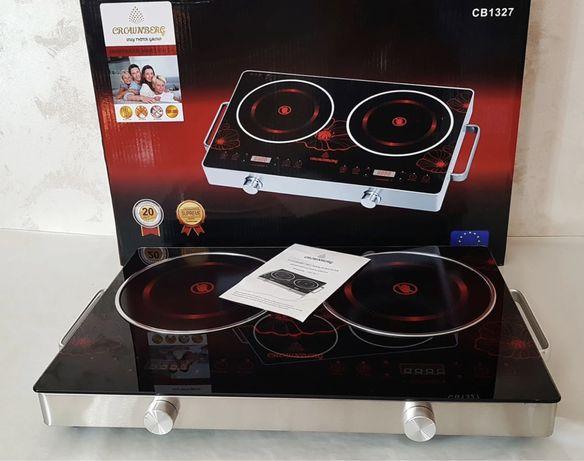Инфракрасная плита Crownberg CB-1327 4000 Вт электроплита печь плитка