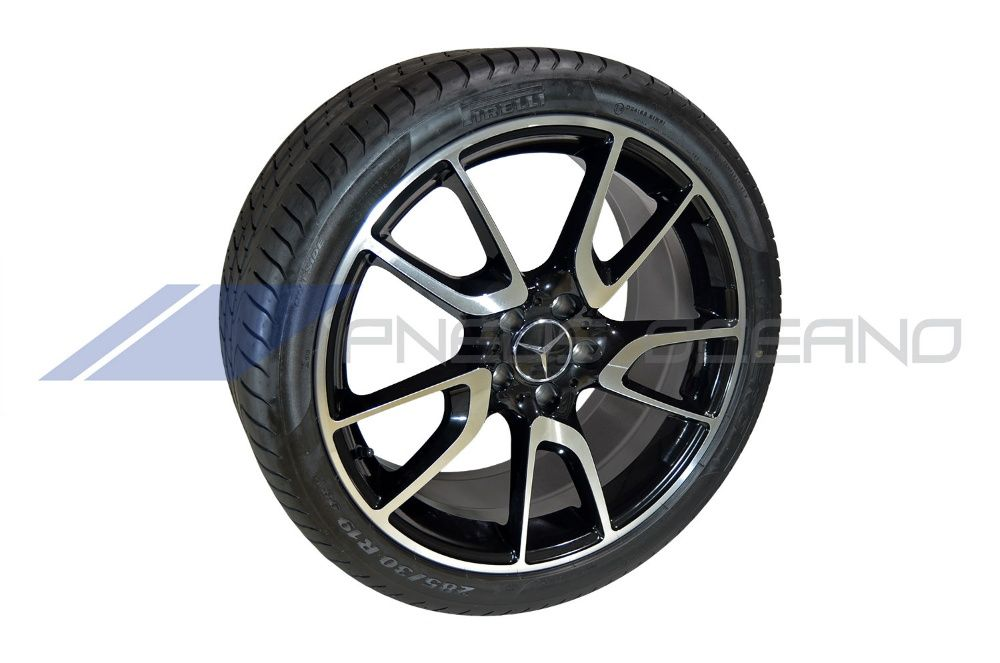 "Conjunto 4 Jantes 19"" 5x112 e Pneus para Mercedes-Benz CLS (CJP922)"