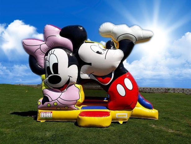 aluga-se insufláveis animações de festas Mickey e Mini
