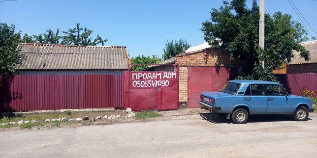 Будинок в гарному місці в м. Нікополь. 7 соток землі. вул. Плавнева