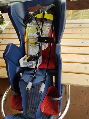fotelik rowerowy montowany na ramę tył   NOWY