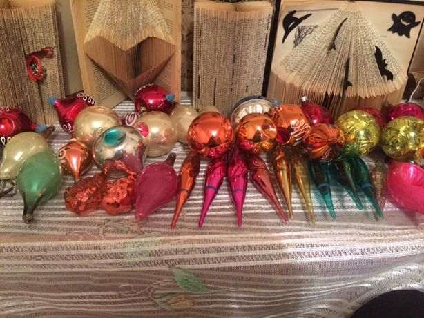 Новогодние игрушки Ссср , ретро игрушки, совецкие игрушки