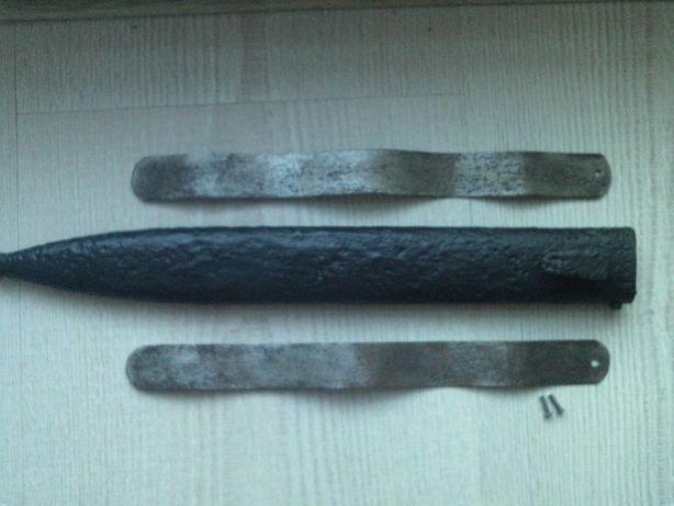 Dławik pochwy bagnetu w systemach Mauser