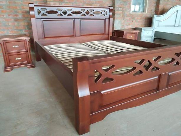 Мебель для СПАЛЬНИ из НАТУРАЛЬНОГО ДЕРЕВА! Кровать, шкаф, комод, тумба