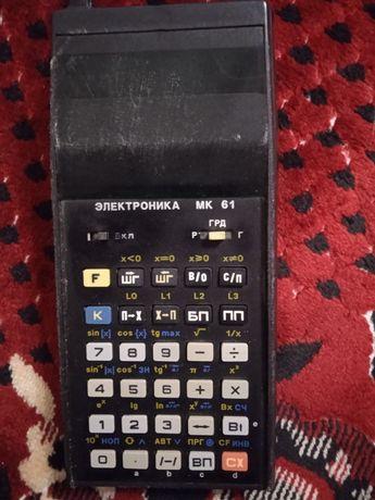 Калькулятор Електроніка МК61