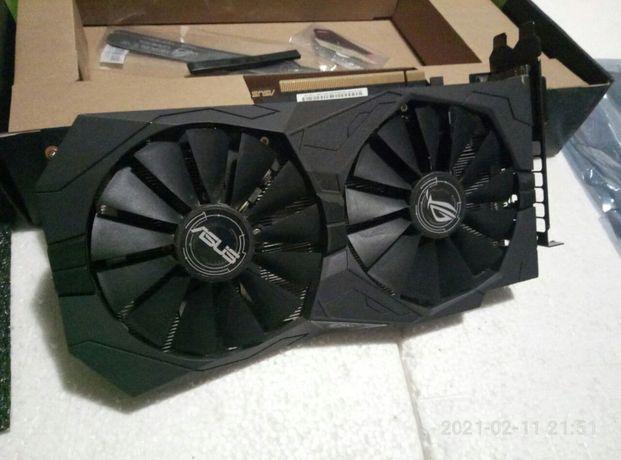 Состояние идеала Asus PCI-Ex GeForce GTX 1050 Ti ROG Strix OC 4GB GDDR