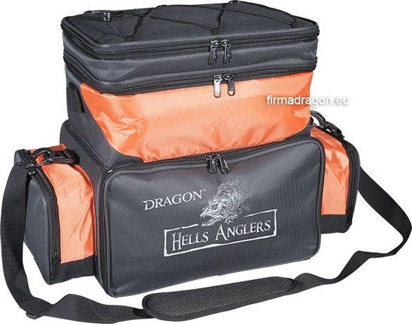 Torba spinningowa Hells Anglers z komorą izotermiczną i pudełkami