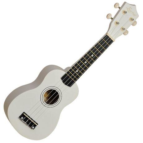 Ukulele sopranowe Ever Play UK-21 białe z pokrowcem