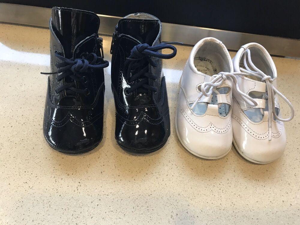 2 pares calçado tam 19 menina