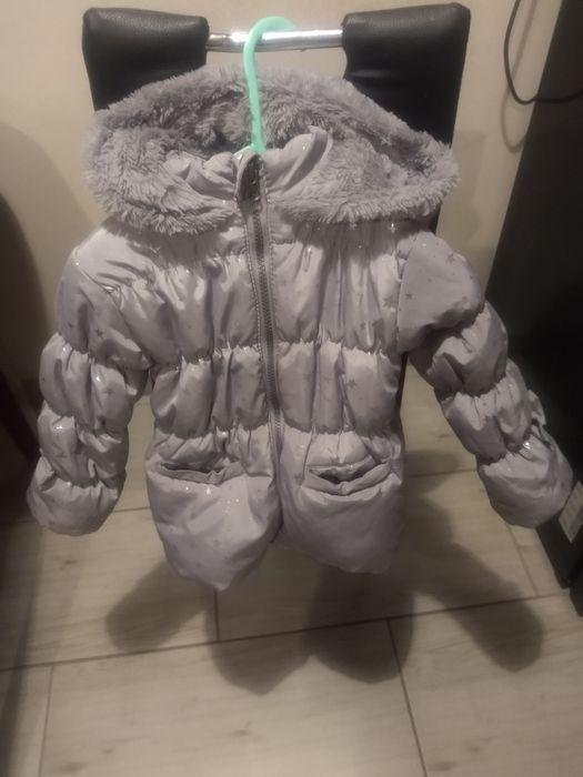 Kurtka zimowa dziewczynka 92 rozmiar Dalborowice - image 1