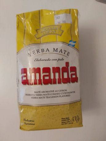 Yerba mate cytrynowa Amanda