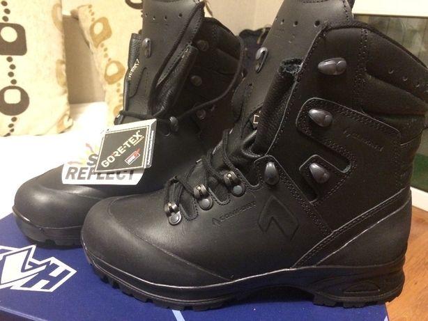 HAIX Nebraska Pro GTX czarne taktyczne wojskowe trekkingowe goretex