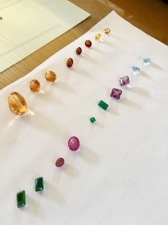 Pedras preciosas e semi-preciosas