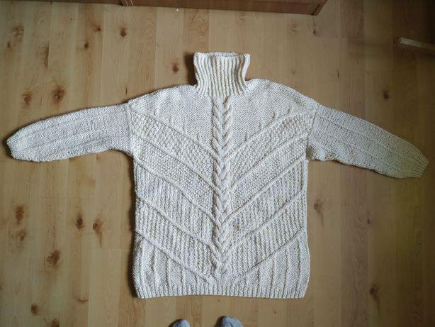 Sweter wełniany hamade l/xl