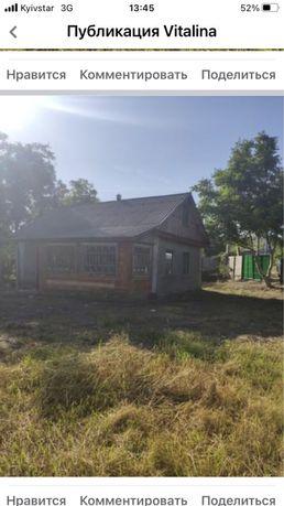 Будинок + велика ділянка біля річки  Південний Буг