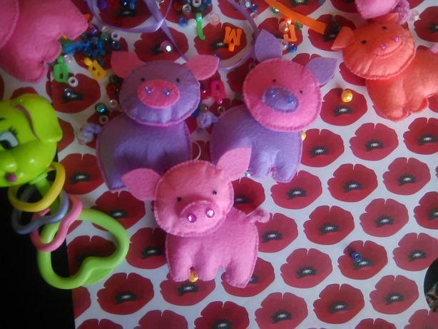 свинка свиня подарок подарунок фетр декор