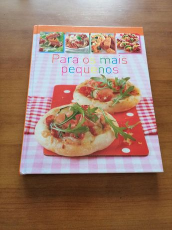 Livro Culinária com receitas para os mais novos