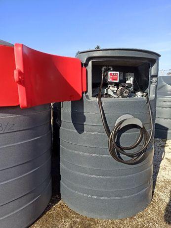 Zbiornik na paliwo ropę wąż 6m 1500l z FILTREM