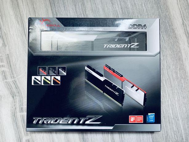 DDR4 G.SKILL TridentZ 32GB(2x16GB) F4-3200C14D-32GTZKW b-die
