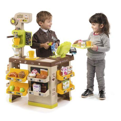 БЕСПЛ.ДОСТАВКА Интерактивная кофейня Smoby Toys Coffee House 350214