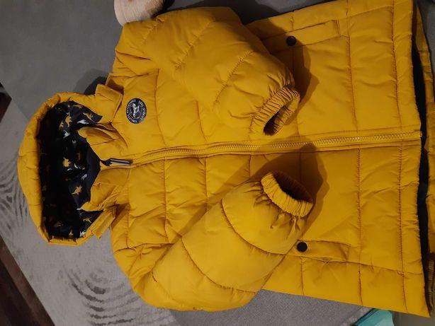 Sprzedam kurtkę zimową rozmiar 128 H&M