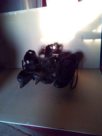 Łyzworolki z odpinanym butem  roz.36