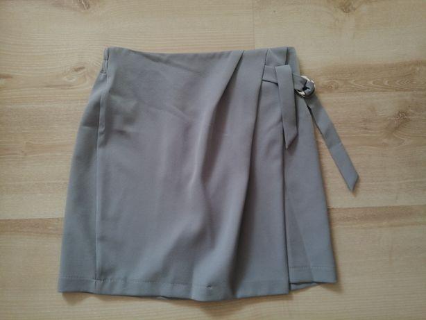 Spodniczka mini szara 36